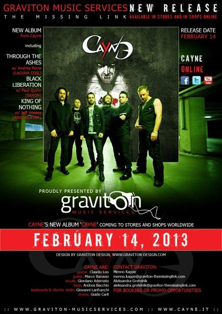 14-02-2013 Cayne CAYNE A4 72 by GRAVITON DESIGN