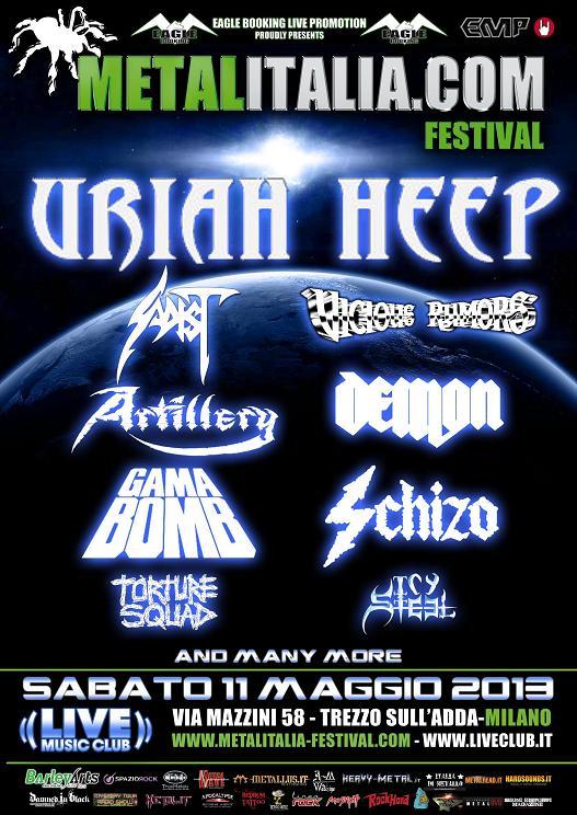 Metalitalia Festival 2013 upweb