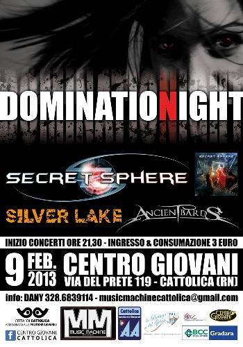 locandina domination night