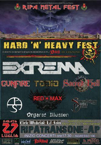Locandina Hard'n'Heavy FEST