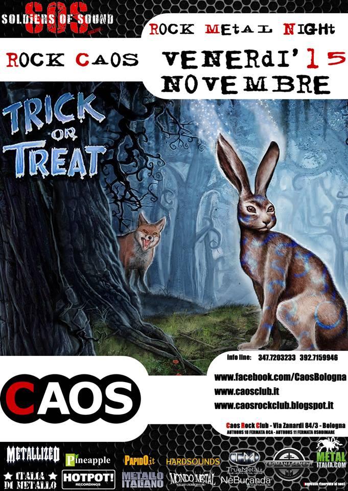 trick or treat@Cas Rock Club