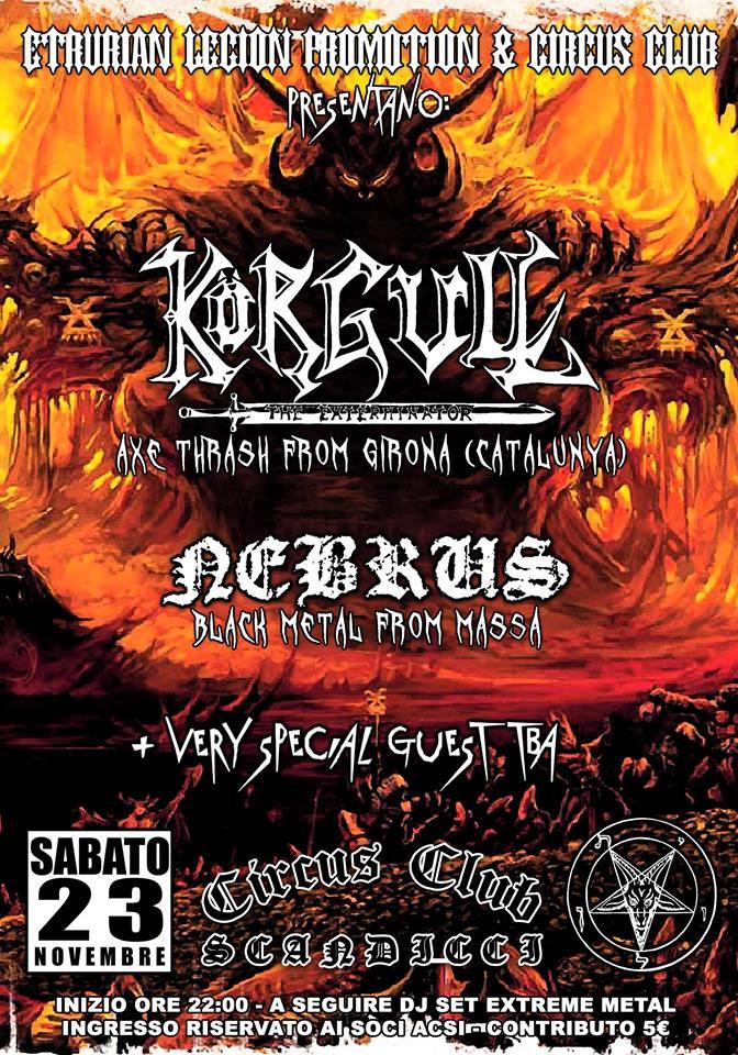 korgull - circus - 23-11-2013