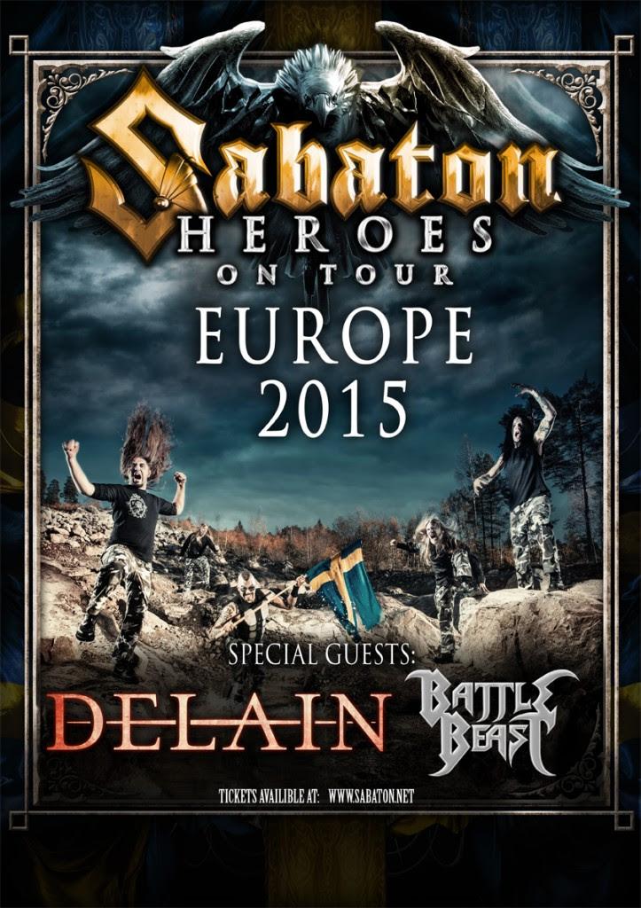 Sabaton Delain
