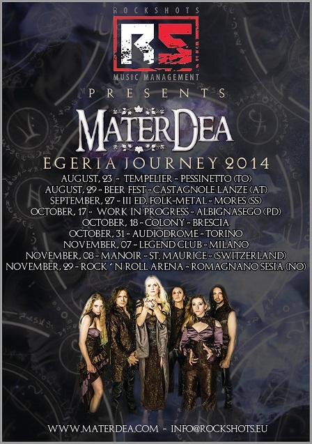 Mater Dea tour