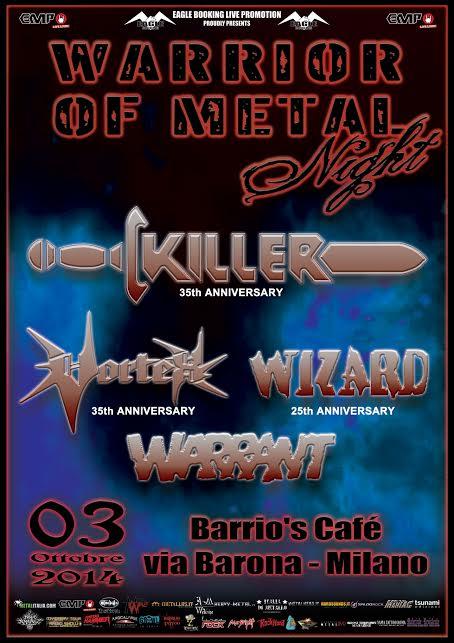 Warrior Of Metal Night