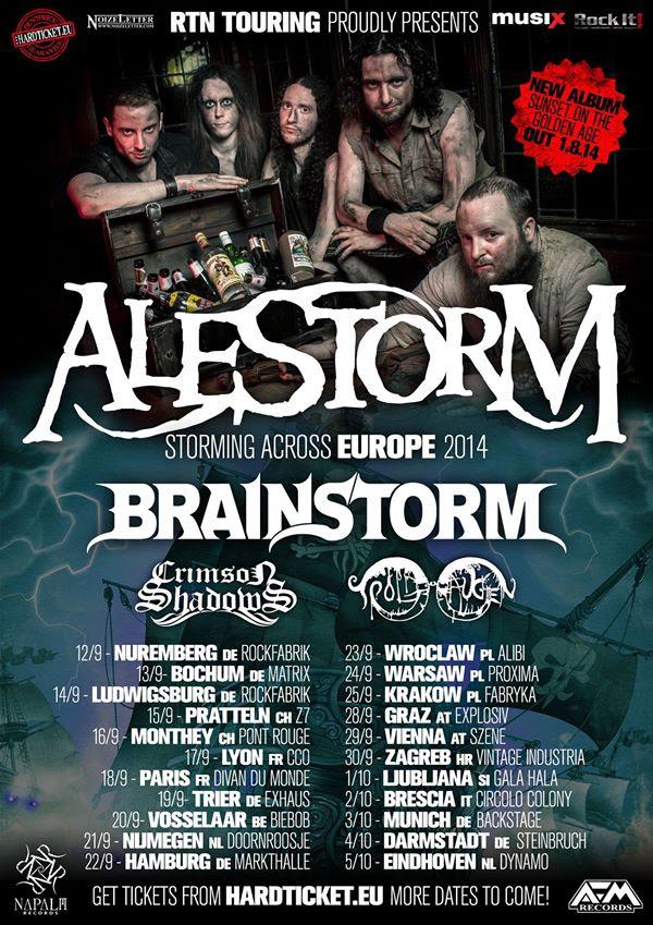 Alestorm Tour