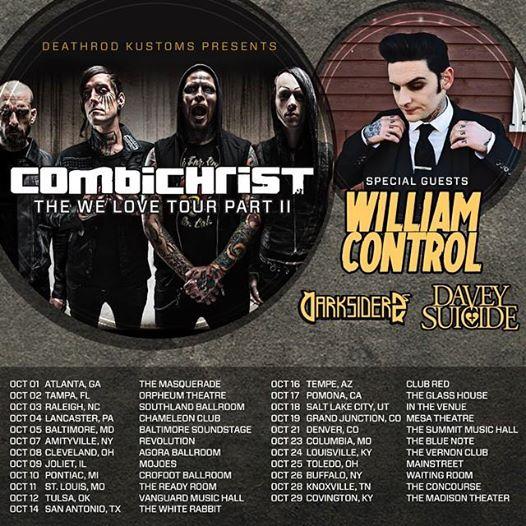 Combichrist tour
