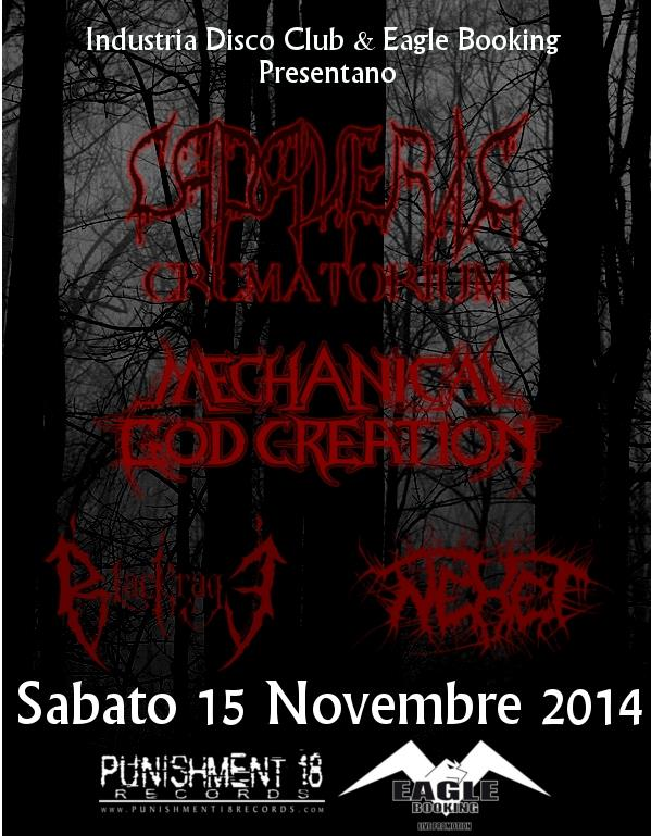 Death Metal Night promo web