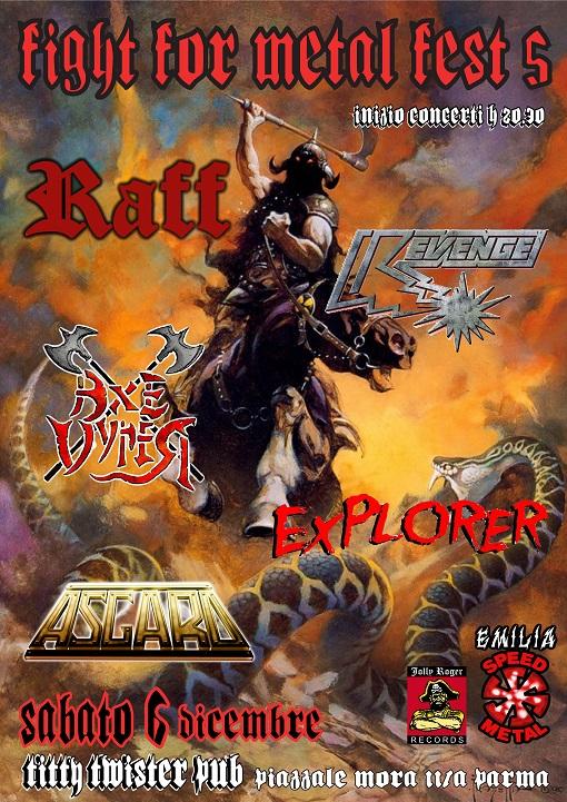 base flyer fight for metal fest