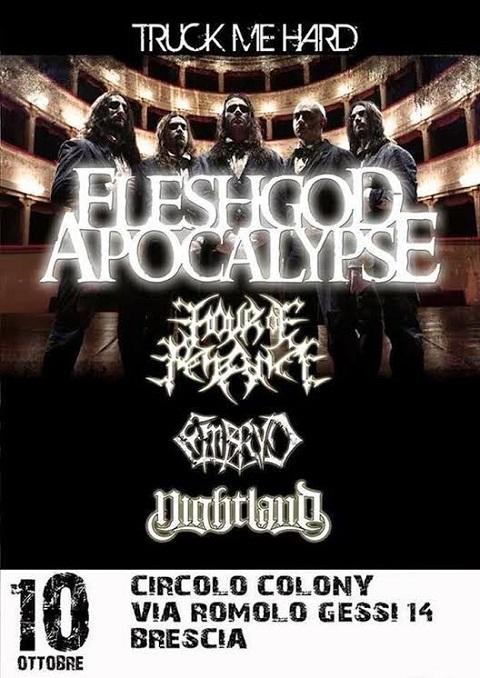 Fleshgod Apocalypse Hour Of Penance Colony Brescia