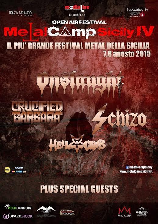 Metal Camp Sicily 2015
