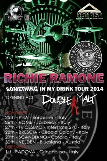 RICHIE RAMONE ITALIAN TOUR