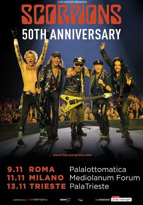 Scorpions tour 2015
