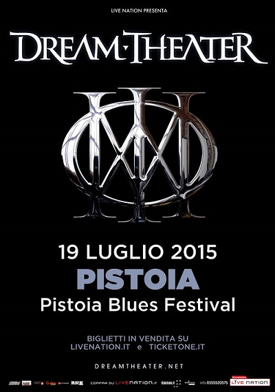 DREAM THEATER Pistoia Blues Festival