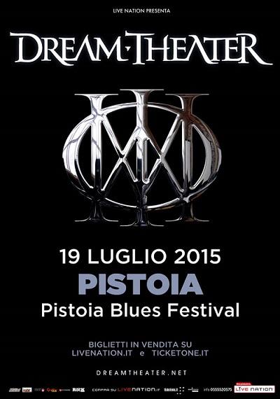 DREAM THEATER Pistoia Blues Festival