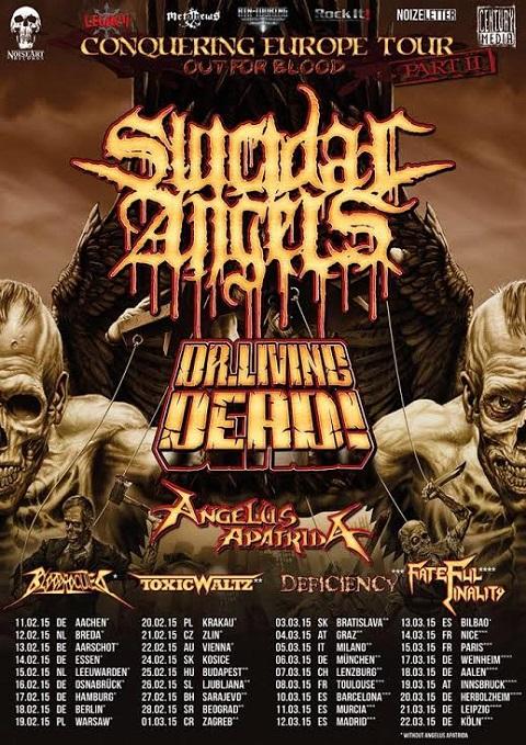 BLOODROCUTED TOUR DATES 2015