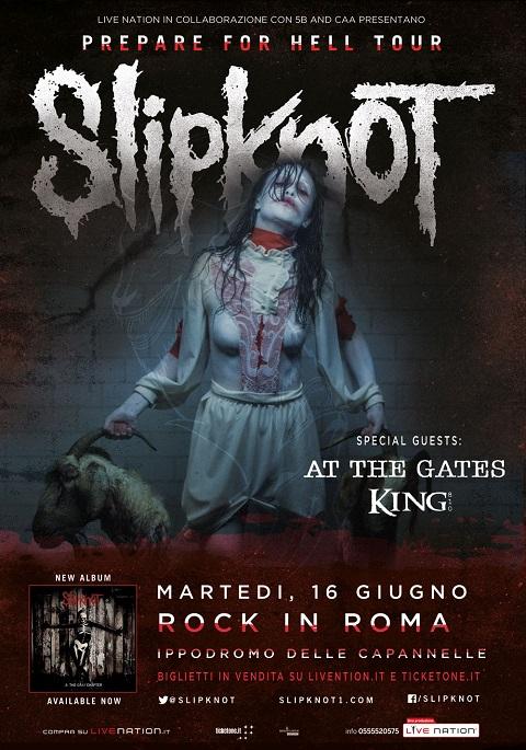 Slipknot Roma 2015