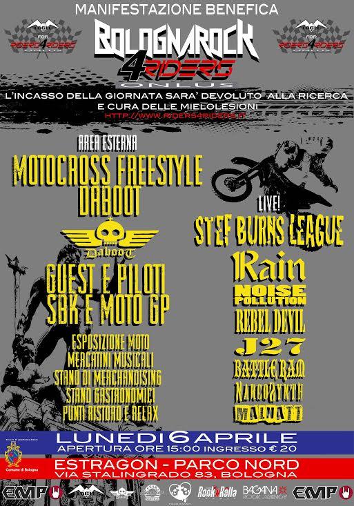 Bologna Rock 4 Riders promo web