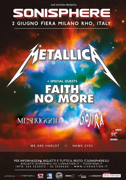 METALLICA 2015 Sonisphere