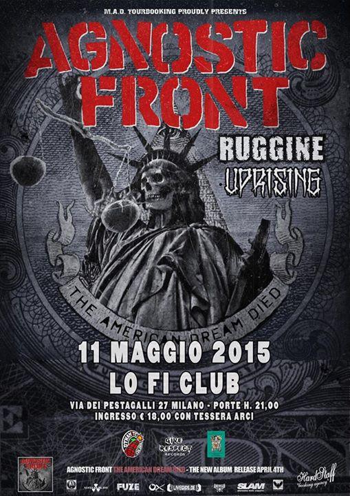 AGNOSTIC FRONT Milano