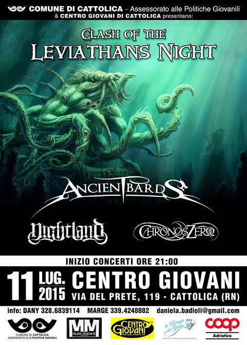 Clash of The Leviathans Night