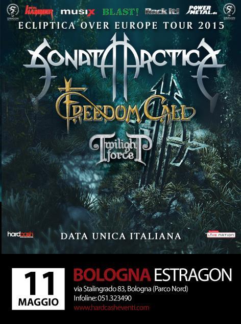 Sonata-Arctica Bologna
