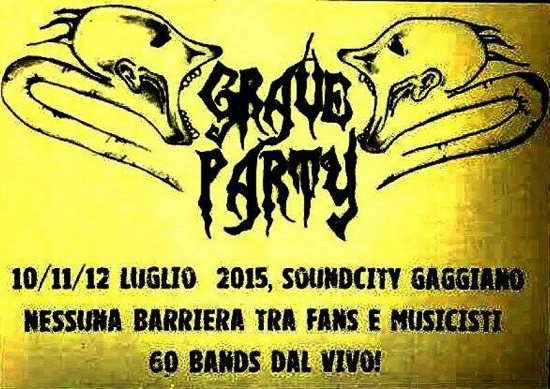Grave Party Gaggiano