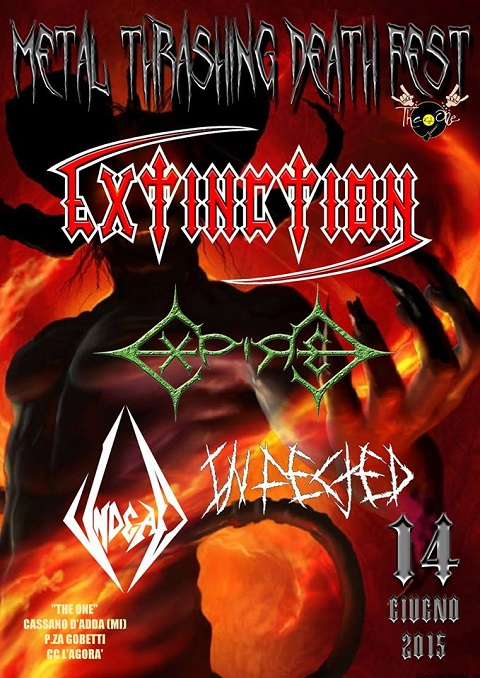 METAL THRASHING DEATH FEST