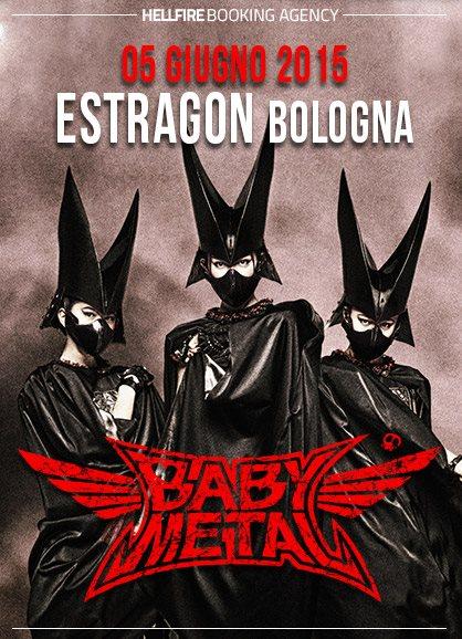 babymetal estragon Bologna
