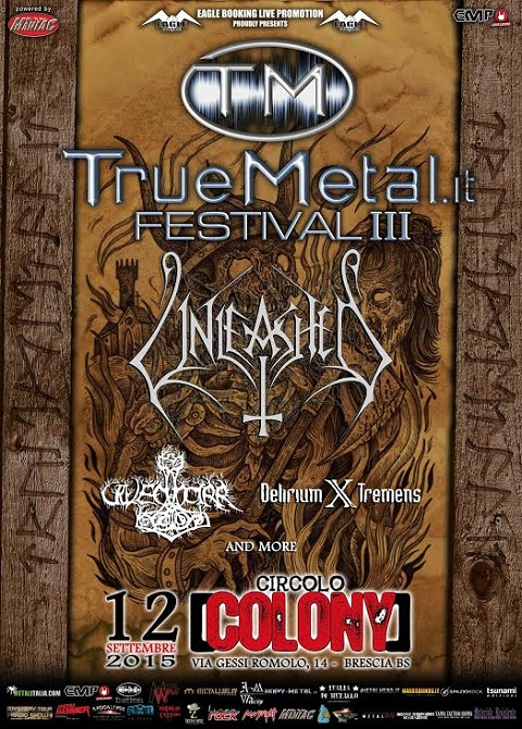 Truemetal 2015 promo web