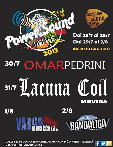 Ubiale Power Sound Festival Lacuna Coil