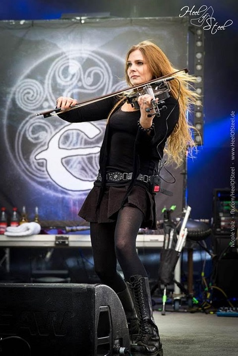 ELUVEITIE - Nicole Ansperger