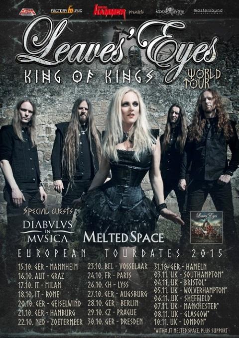 Leaves Eyes tour 2015