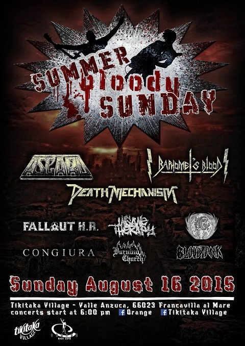 SUMMER BLOODY SUNDAY METAL FEST
