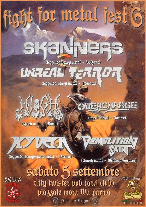 Fight For Metal Fest 6 Parma