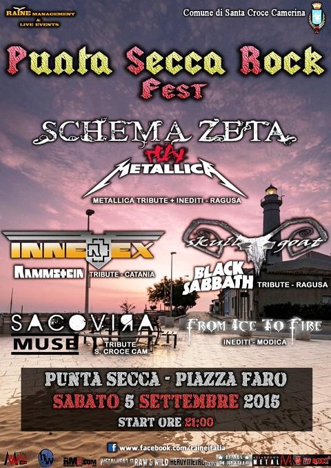 Locandina Rock fest - compressa