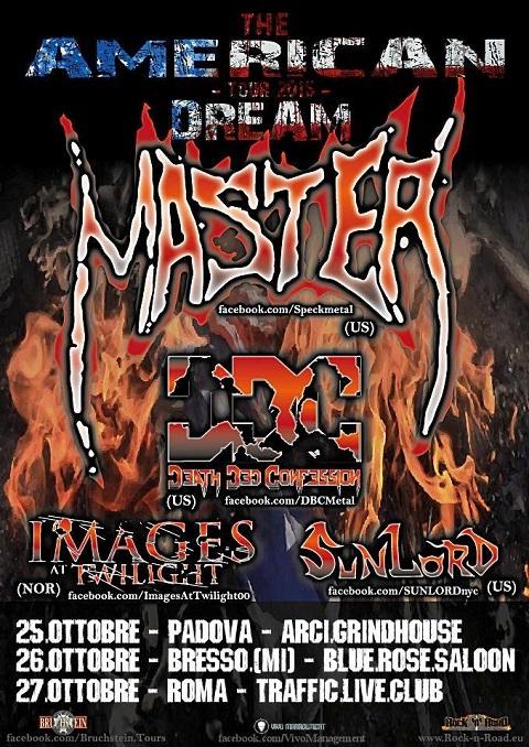 Master tour italiano 2015