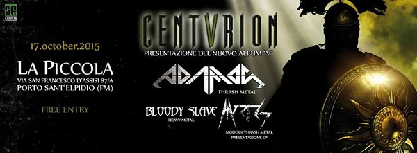 Centvrion live 2015