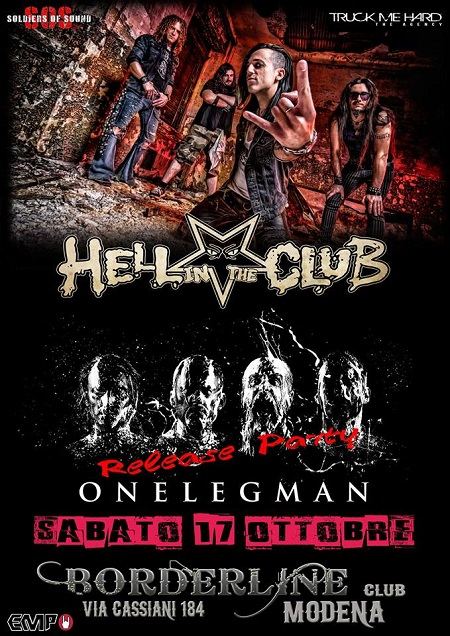 Hell In The Club live a Modena