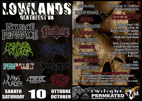 LOWLANDS Death Fest