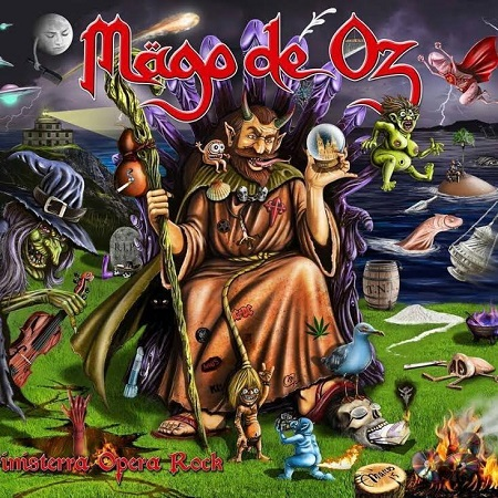 Mägo de Oz Finisterra Opera Rock