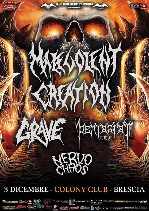 Malevolent Grave Italy promo web