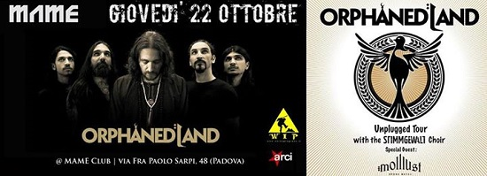 Orphaned Land Padova