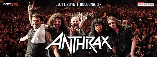 Anthrax Zona Roveri Bologna