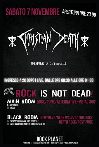 Christian Death + Celestial - Rock Planet