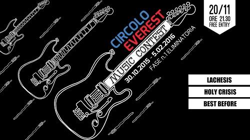 Circolo Everest Music Contest - banner
