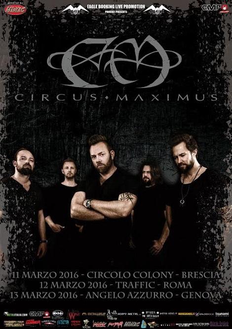 Circus Maximus 2015 promo web