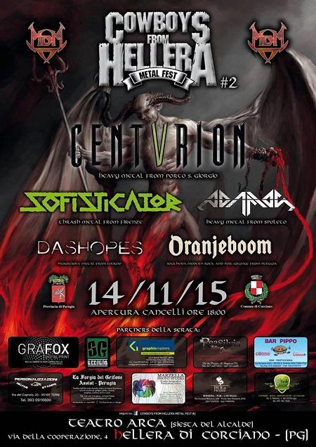 Cowboys from Hellera Metal Fest