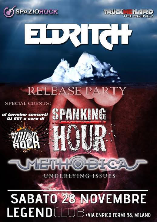 Eldritch RELEASE PARTY