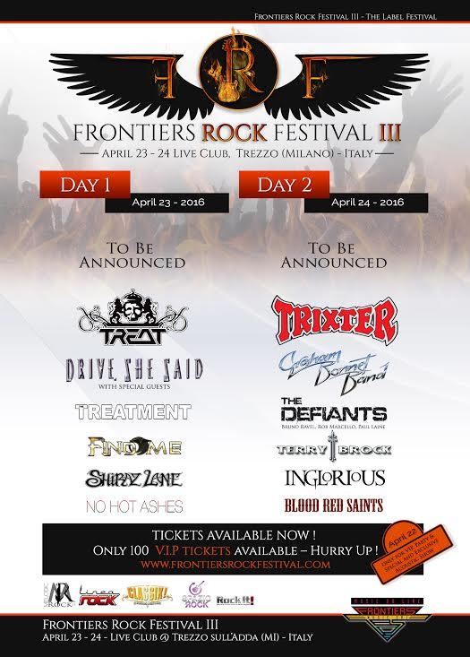 FRONTIERS ROCK FESTIVAL III